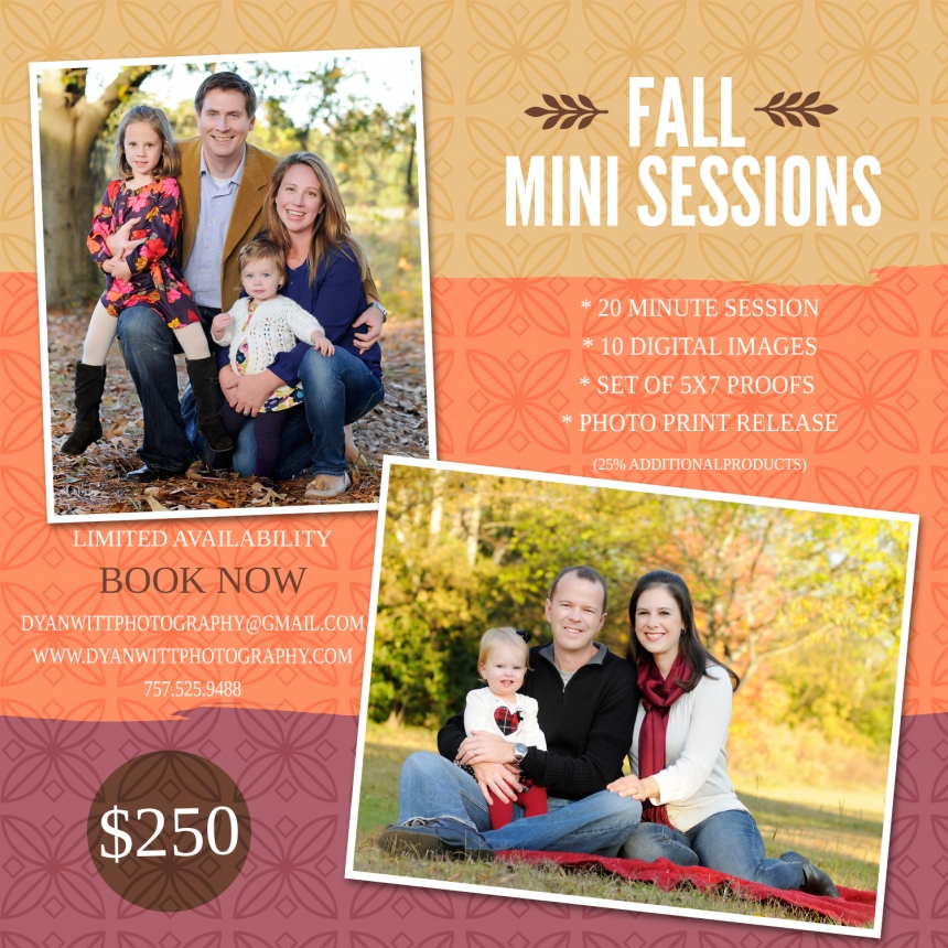 Fall Mini Session 2014