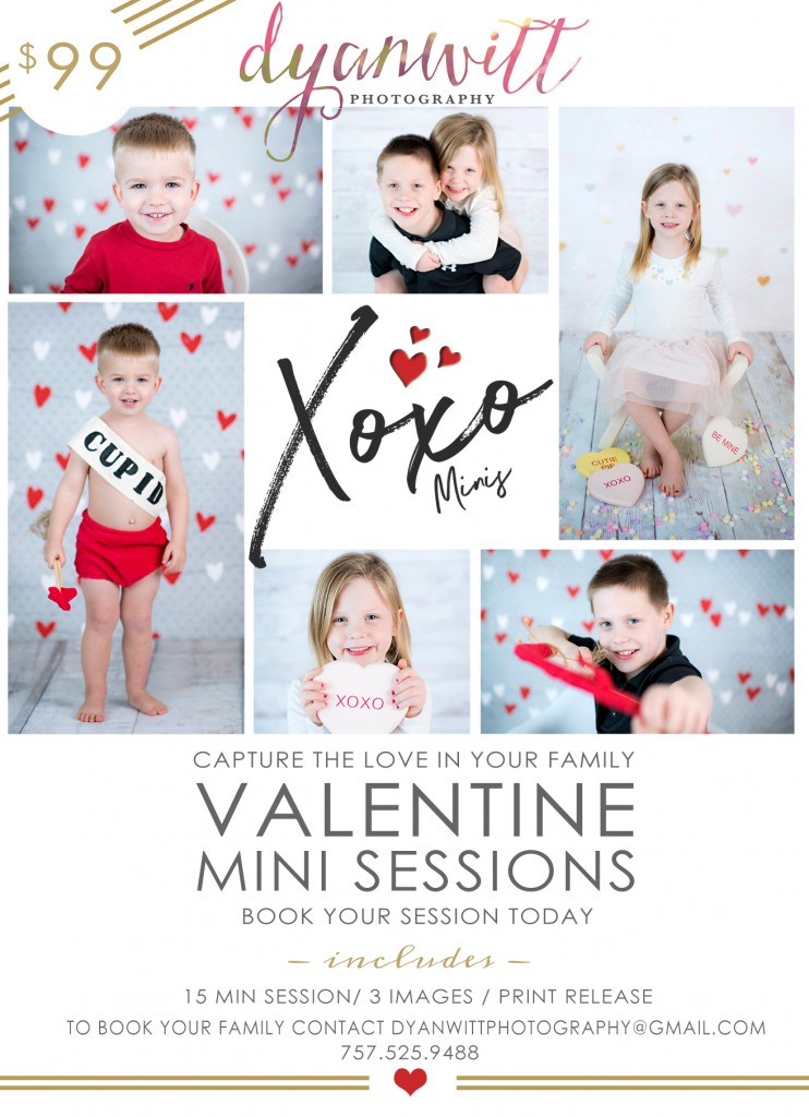 Valentine Mini Session 2017